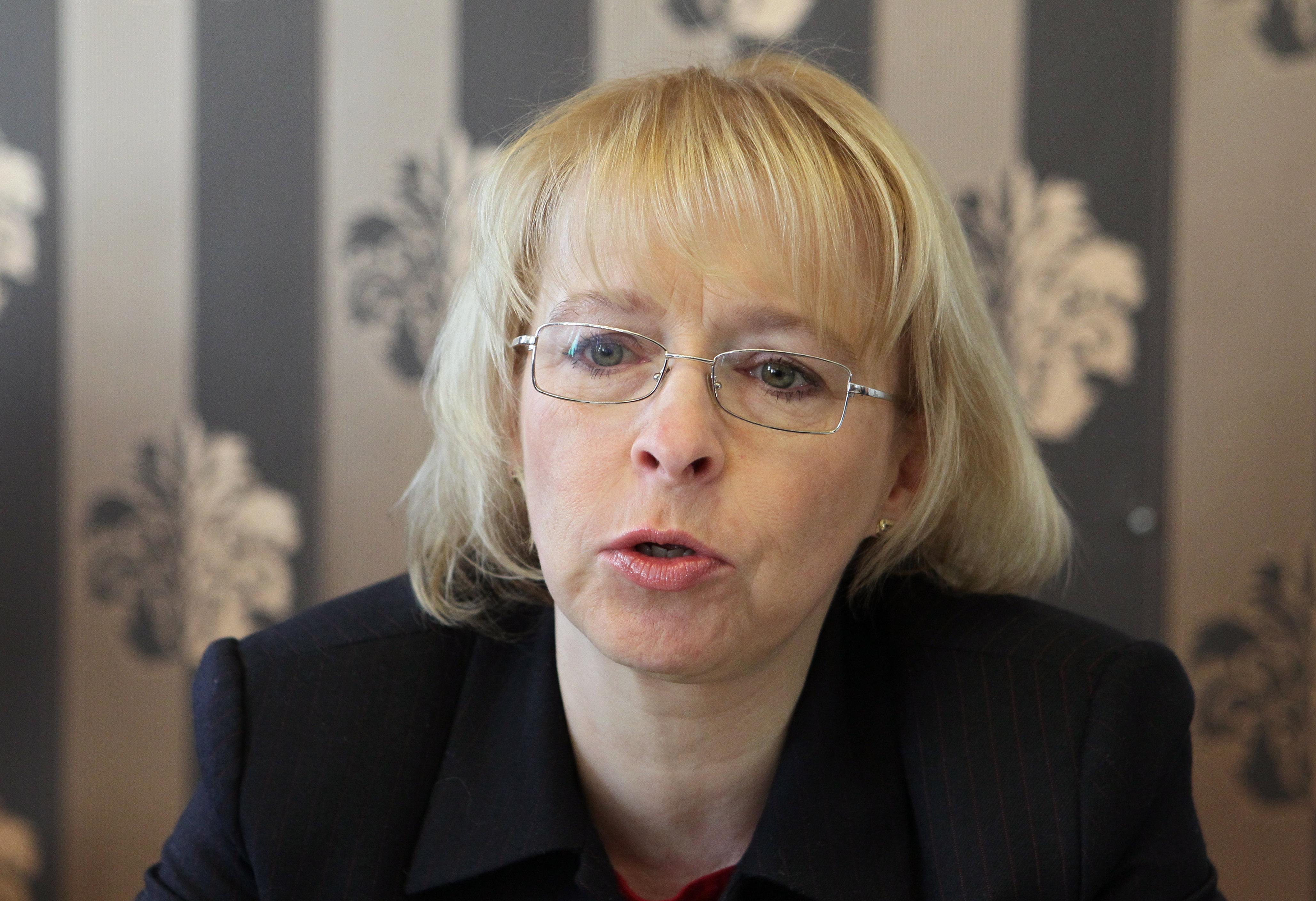 Proti své bývalé resortní kolegyni Heleně Válkové vystoupila i Hana Marvanová, která měla na ministerstvu přípravu zákona na starosti. Foto: Mediafax